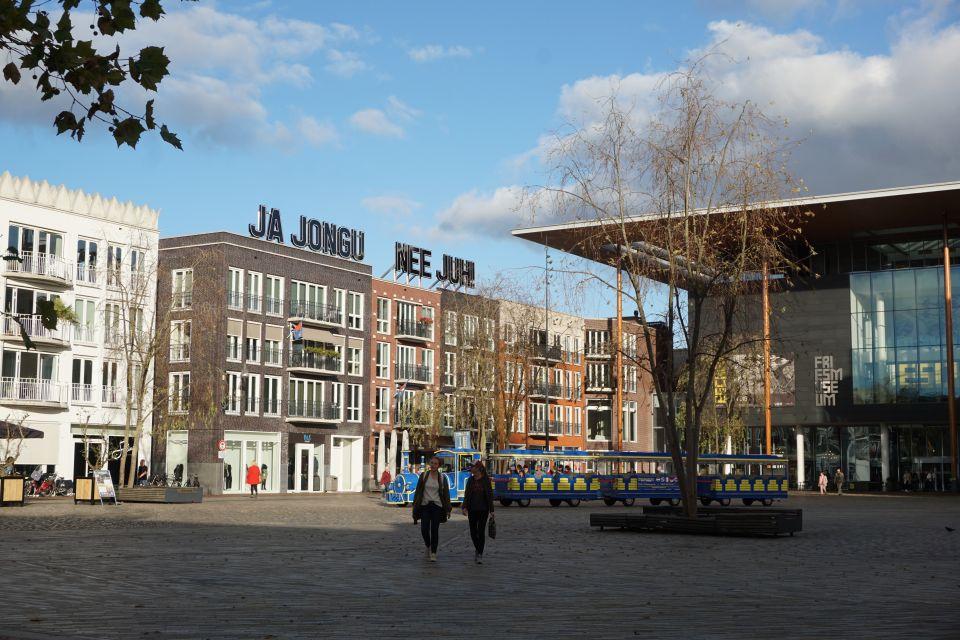 Het Wilhelminaplein in Leeuwarden, foto Evamarije Smit