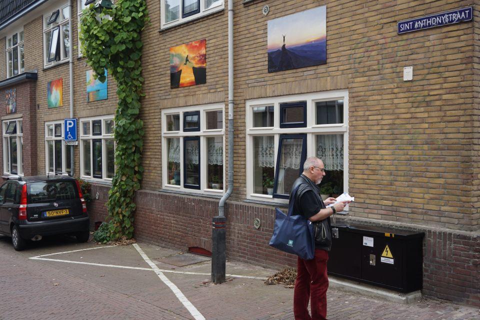 Kunstwerken aan de panden fleuren de stad op, foto Evamarije Smit