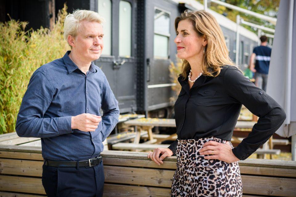 Paul Gerretsen en Desirée Uitzetter foto Jostijn Ligtvoet