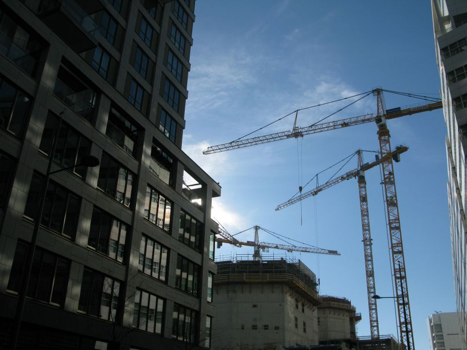 Nieuwbouw in Den Haag. Foto: Joost Zonneveld