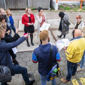 Glaskring toont proces circulair bouwen van sociale huurwoningen tijdens DDW